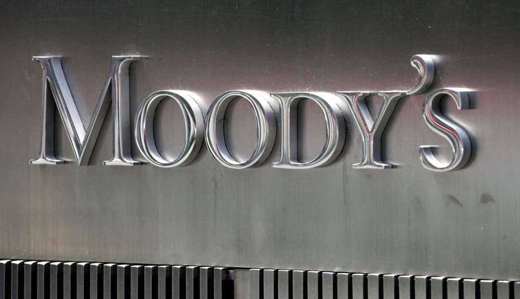 Letrero de Moody's en Nueva York