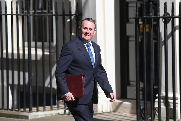 Liam Fox, secretario de Comercio Internacional del gobierno británico