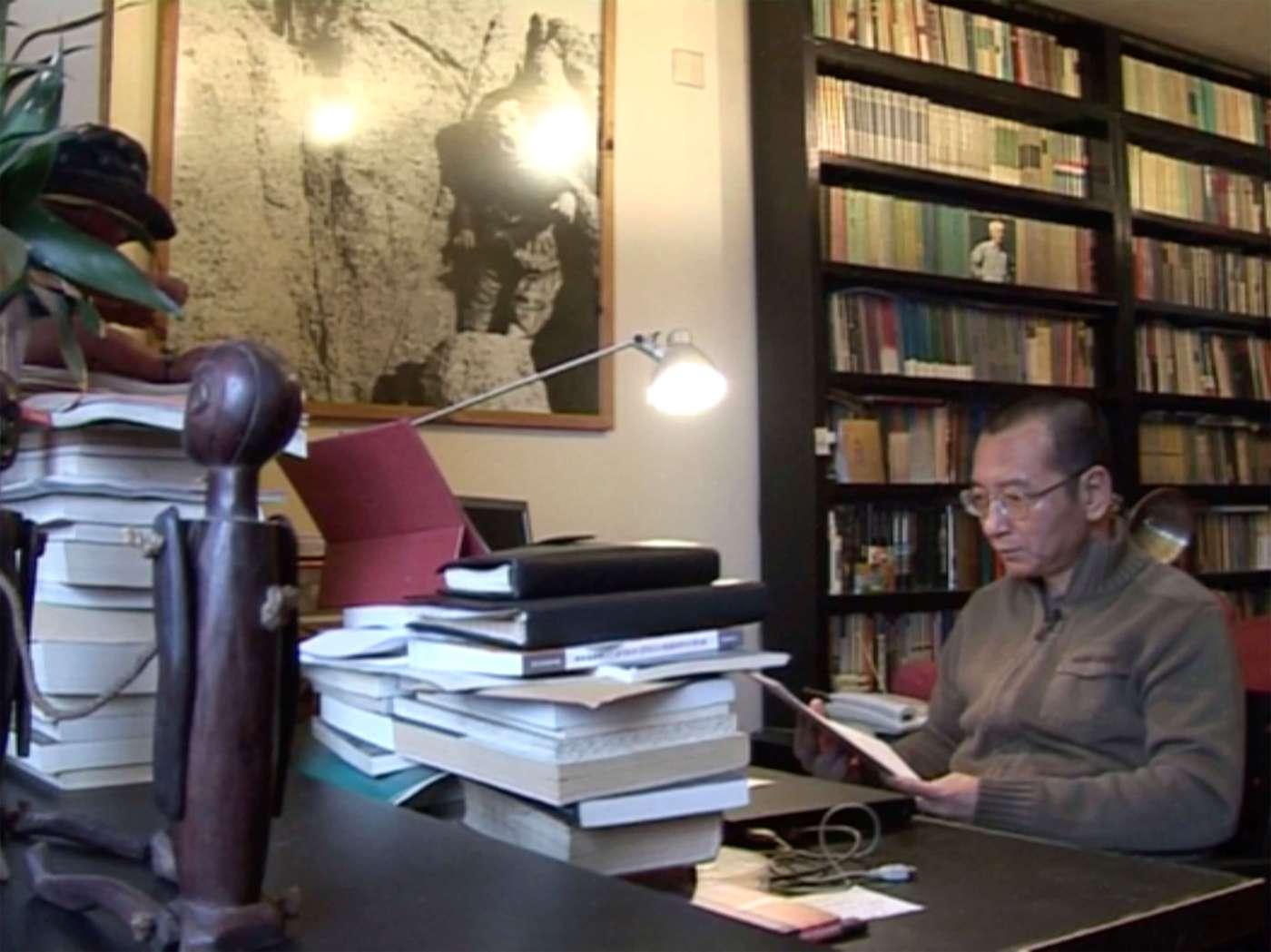 Liu Xiaobo en Beijing poco antes de su arresto en 2008
