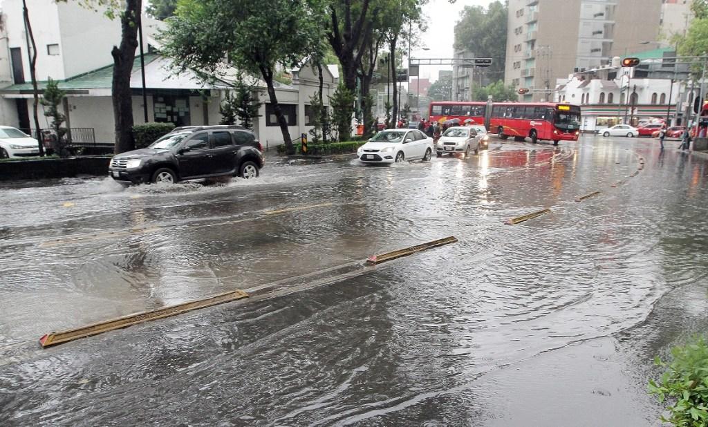 Las lluvias continuarán afectando la CDMX. (Notimex Archivo)