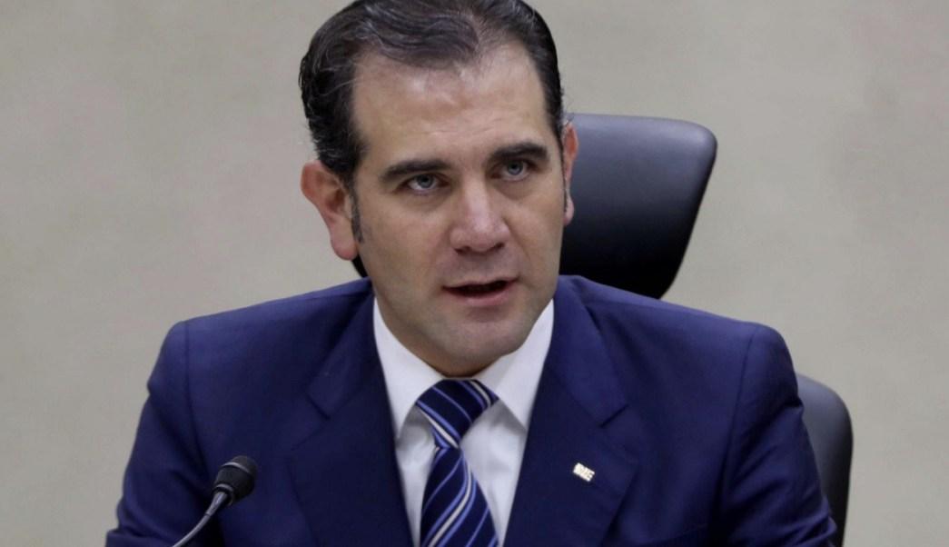 Lorenzo Córdova, presidente del INE. (Twitter INE)