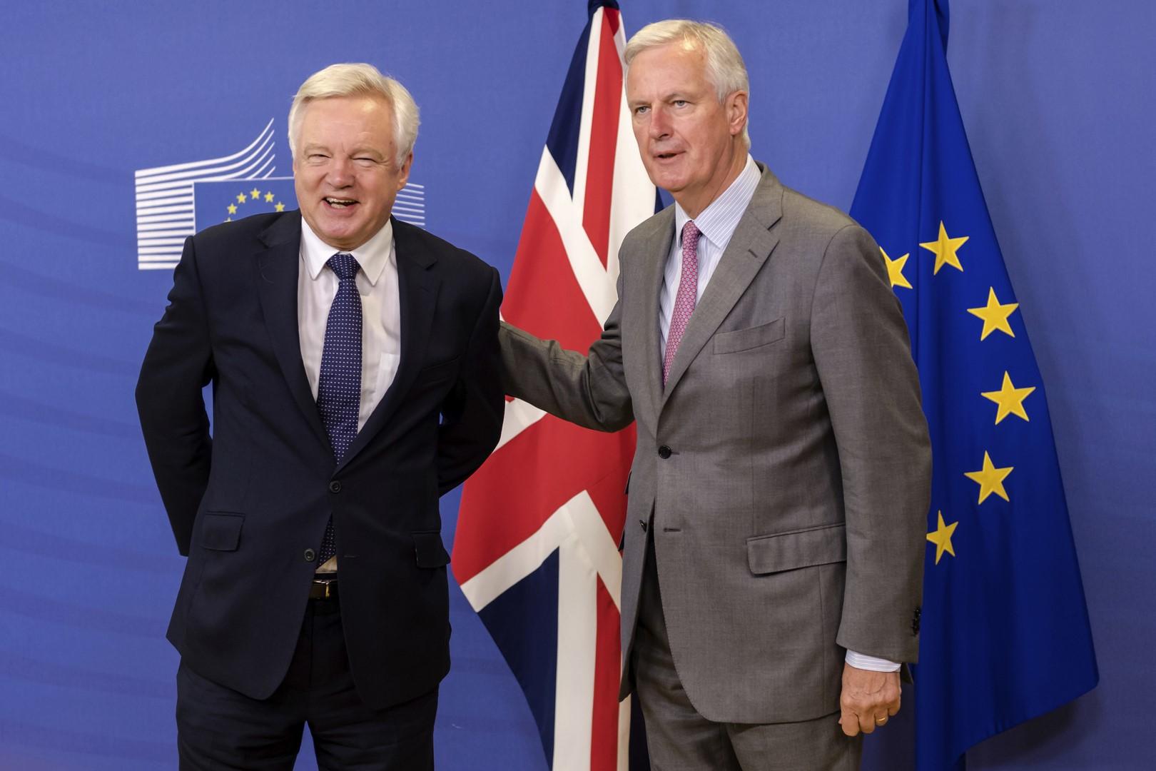 UE y Reino Unido alistan segunda negociación del Brexit — VENEZUELA