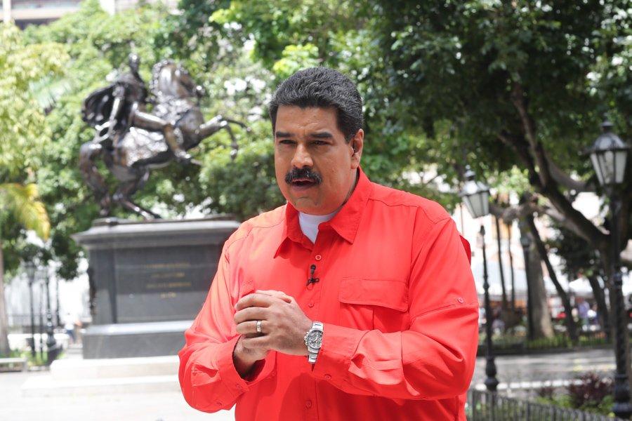 Nicolas Maduro, el presidente de Venezuela