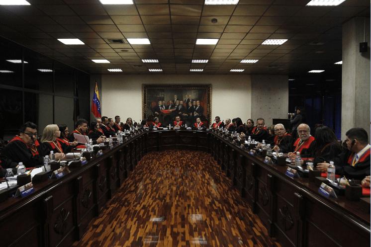 Magistrados del Tribunal Supremo de Venezuela