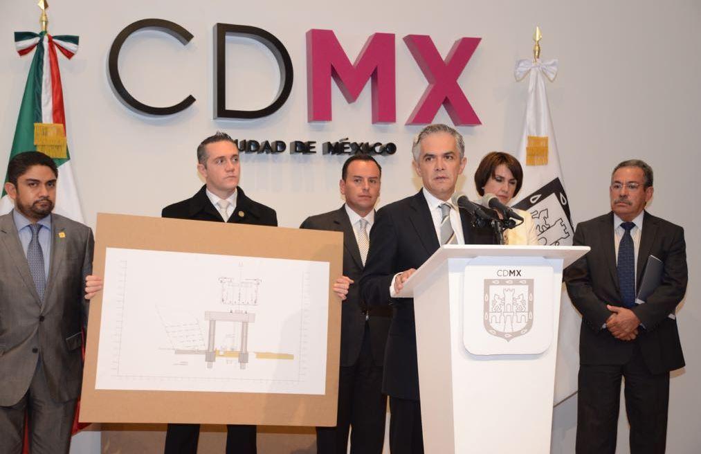 Mancera anuncia modificación a proyecto del tren México-Toluca