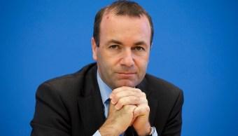 Manfred Weber, dirigente del PPE, encabeza la misión a México