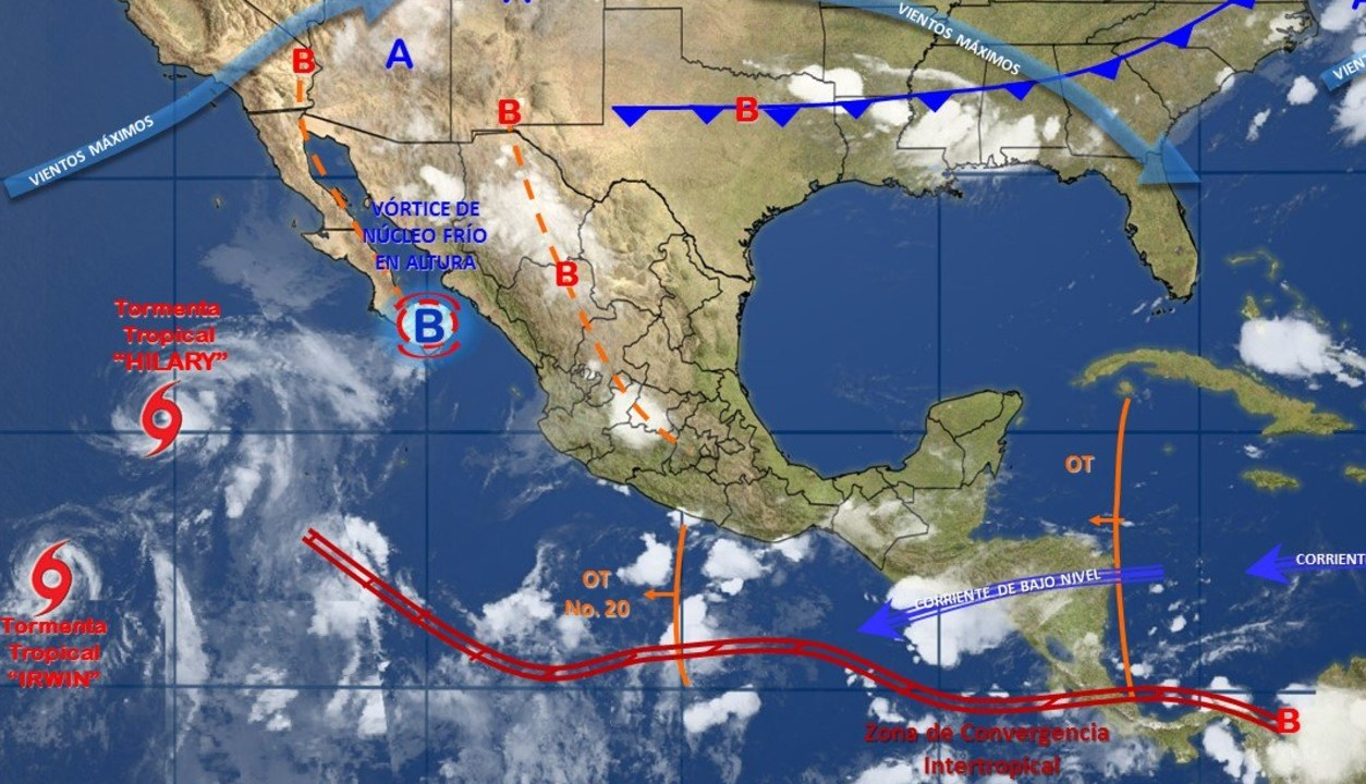 Imagen fenomenos meteorologicos mexico