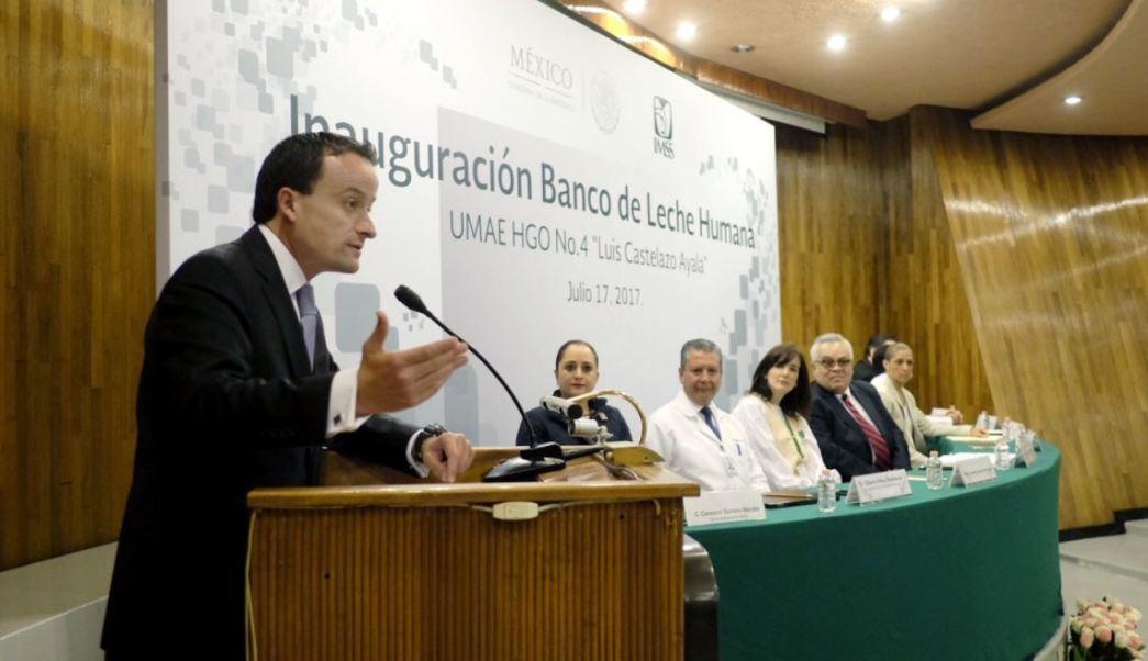 Seguro Social, Banco De Leche, Mikel Arrieola, Hospital De Ginecologia, Noticias, Noticieros