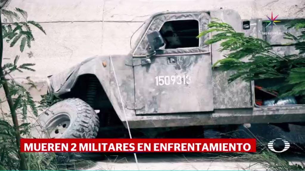 Mueren dos militares tras ataque de grupo armado en Tamaulipas