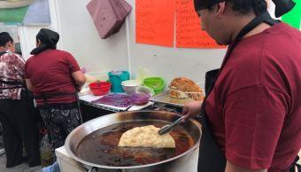 San Pedro Cholula, Puebla, Molote, Festival Gastronomico, Tradiciones, Noticieros