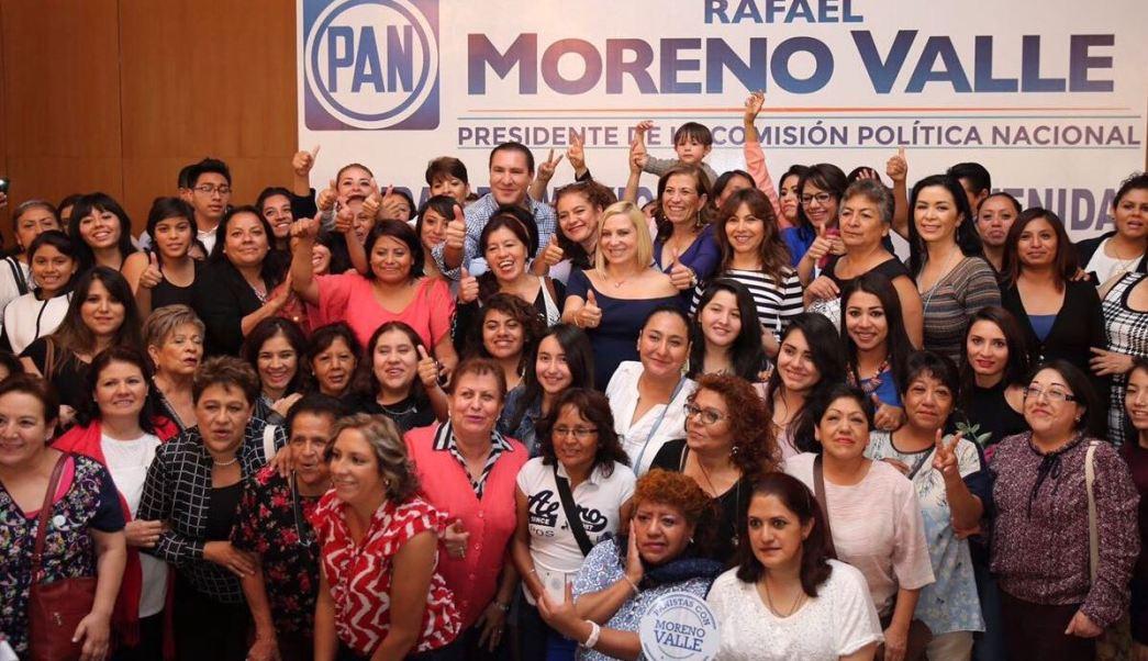 Ricardo Anaya, Margarita Zavala, Rafael Moreno Valle, Militantes, PAN, CDMX, PRI