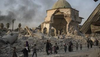 Las fuerzas iraquíes continúan su avance contra los militantes islámicos en Mosul, Irak (AP)