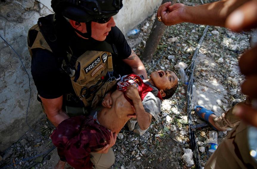 La ofensiva para expulsar al EI de Mosul comenzó en octubre de 2016 (Reuters)
