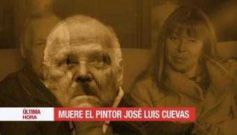 Muere, José Luis Cuevas, artista plástico