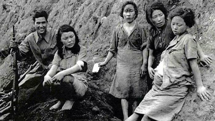 Segunda Guerra Mundial, mujeresconsuelo, esclavas sexuales, japón, japoneses, burdeles