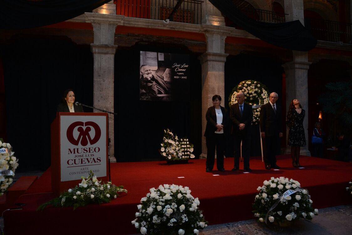 Con homenaje a su fundador, museo José Luis Cuevas celebra 25 años