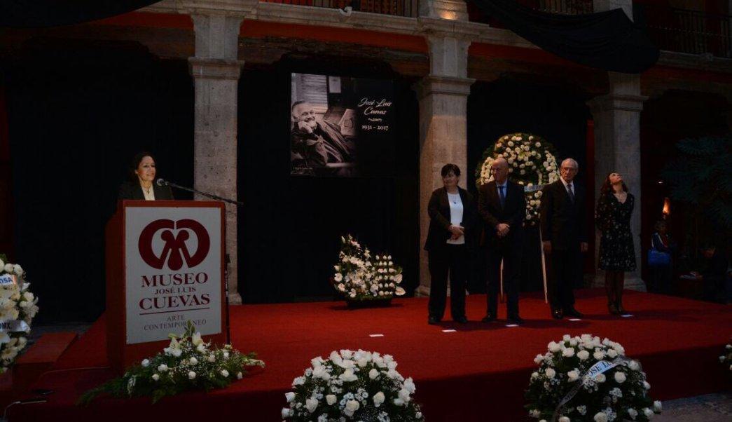 José Luis Cuevas, museo, homenaje, arte, cultura, INBA