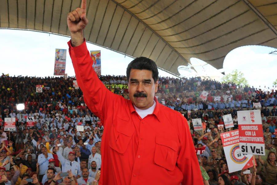 Maduro, Venezuela, crisis, Constituyente, protestas, paz, guerra,