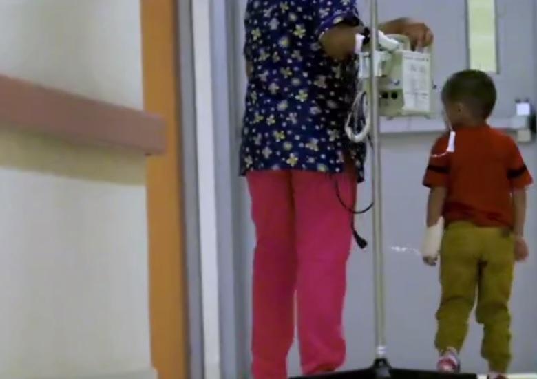 Anthony, el niño encadenado en la GAM. (FOROtv Archivo)