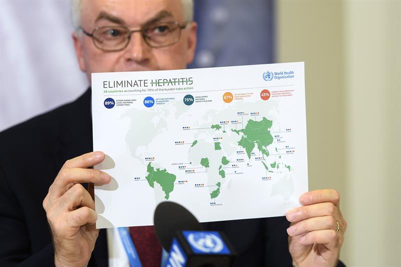 OMS espera erradicar la Hepatitis para 2030