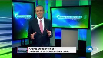 Andres, Oppenheimer, Presenta, entrevista, Isabel, Allende