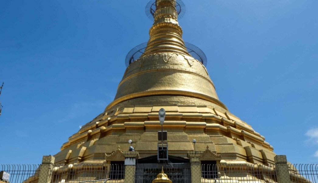 Pagoda, Myanmar, Lluvias, Hundirse, Inundaciones, Clima