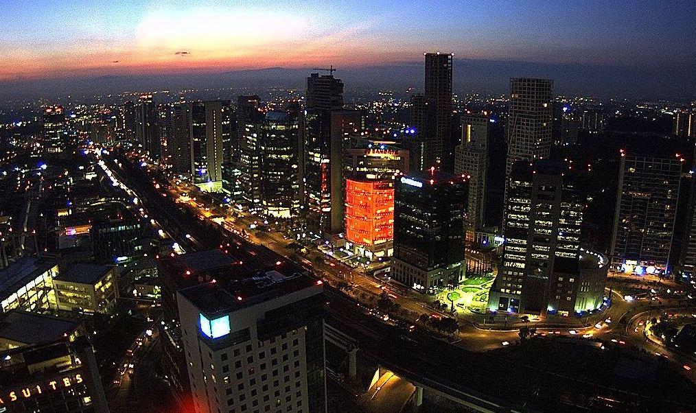 panoramia de la ciudad de mexico