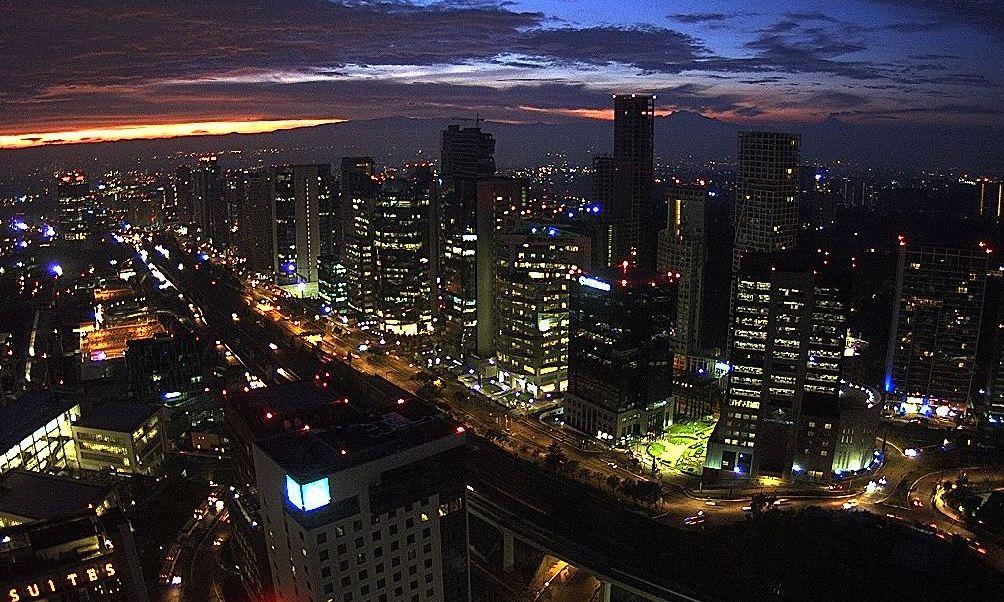 panoramica de la ciudad de mexico; habra lluvias