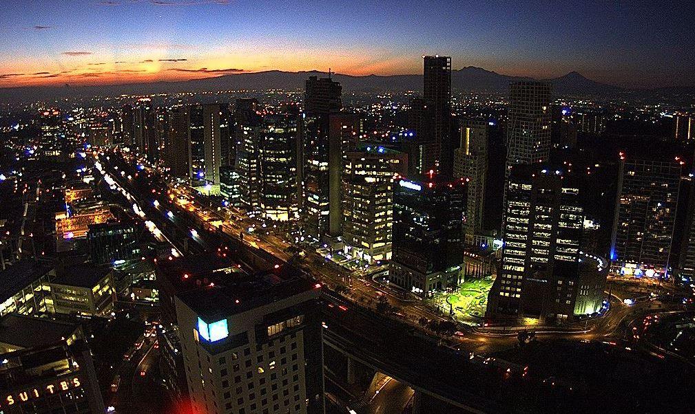 panoramica de la ciudad de mexico; preven lluvias