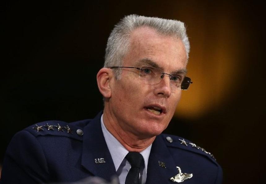 El vicepresidente del Estado Mayor Conjunto de Estados Unidos, Paul Selva (AP/Archivo)