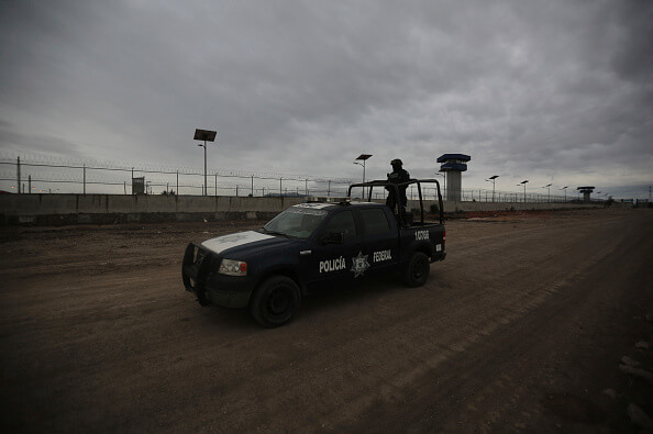 Penal, El Altiplano, Seguridad, Policía Federal, Reos, Detenidos