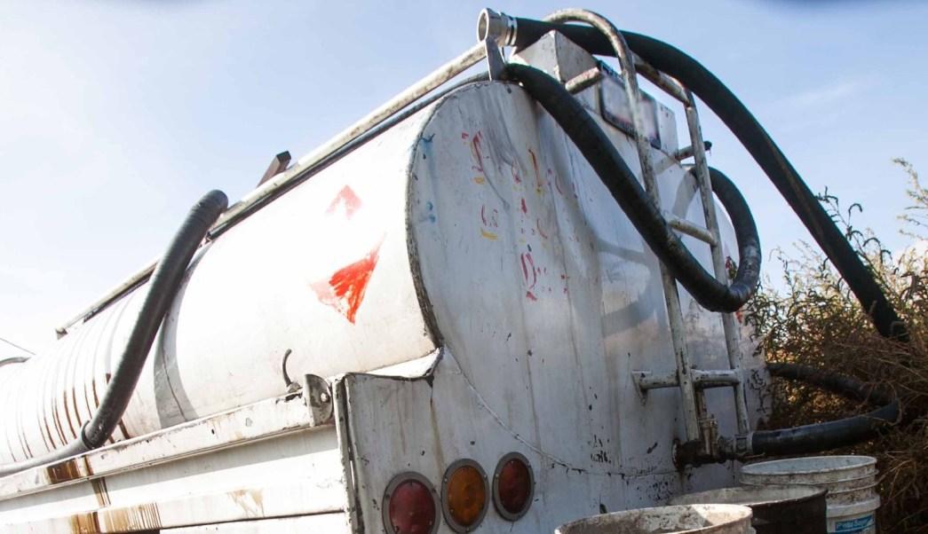 Policia federal asegura combustible ilícito en SLP