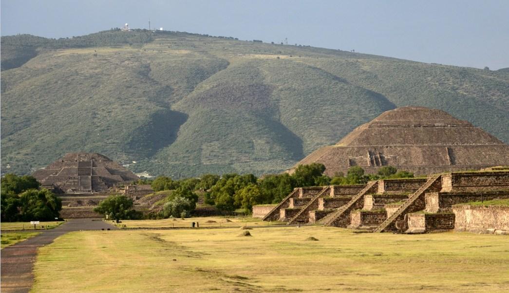 Descubren conducto en teotihuacan estado de mexico