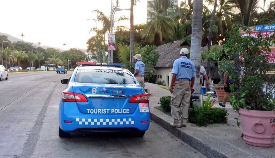 Policia, Turistica, Operativo, Acapulco, Seguridad, Vacaciones,
