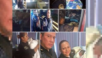 mujeres embarazadas, labor de parto, embarazo, policías, sspcdmx