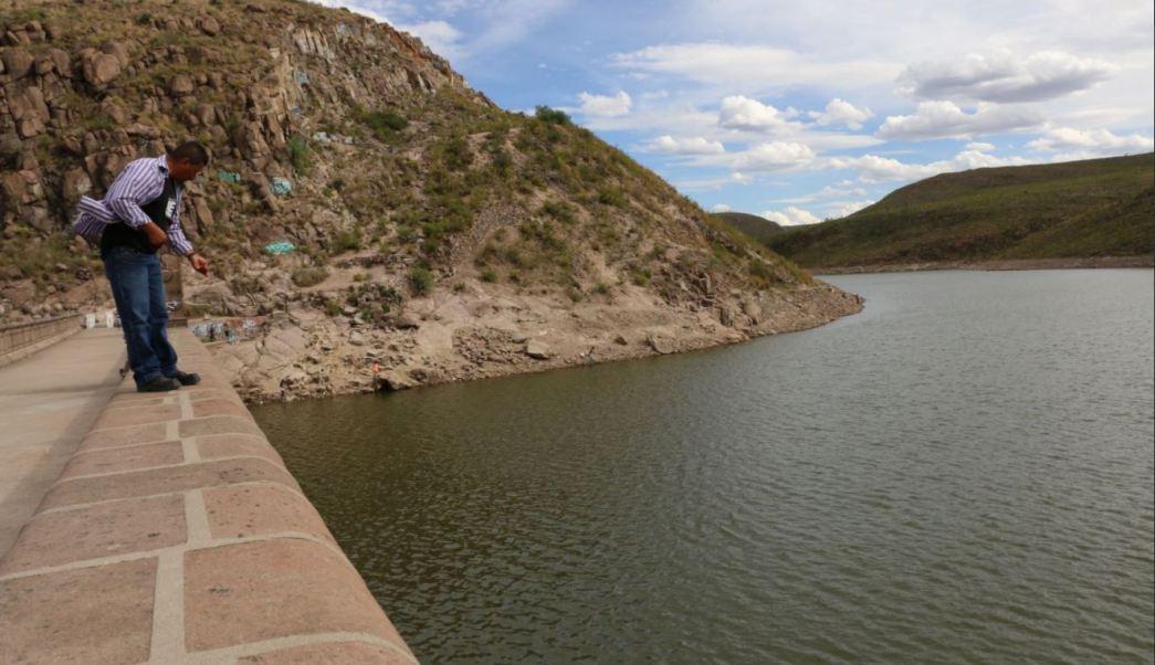 La presa 'San Jose' se encuentra a 50% de su capacidad
