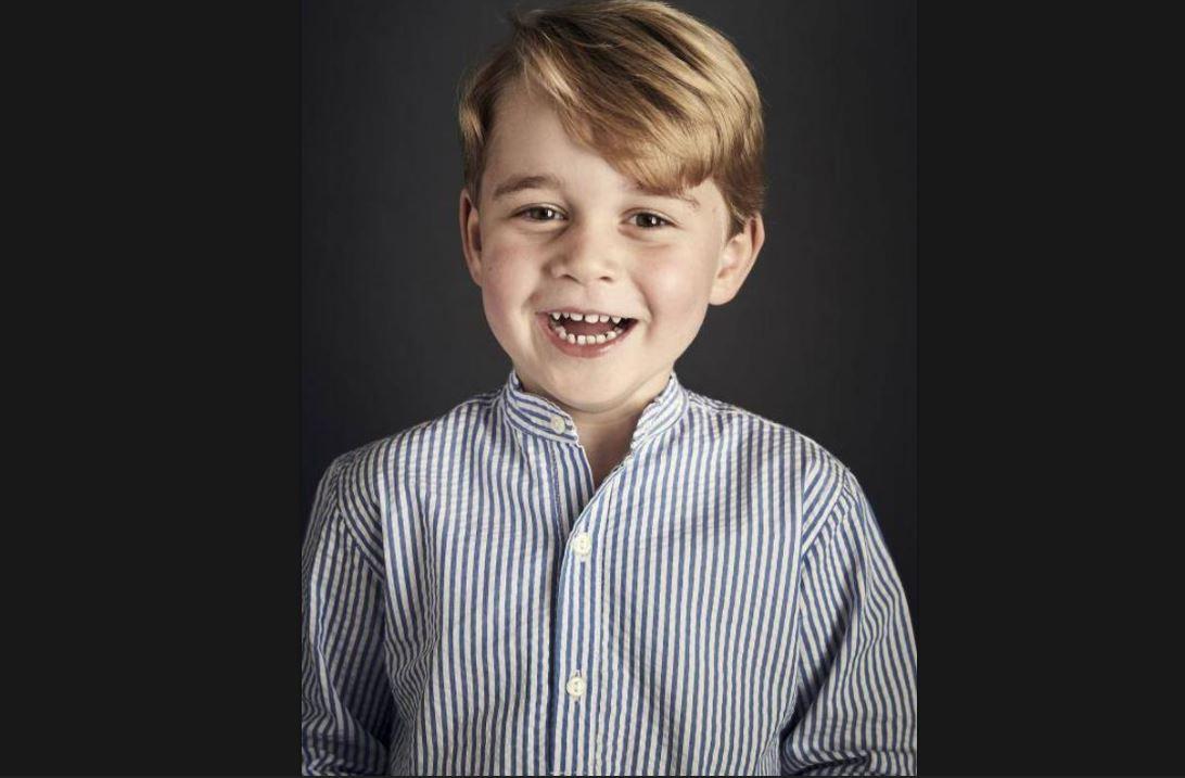 Publican el nuevo retrato oficial del Príncipe George