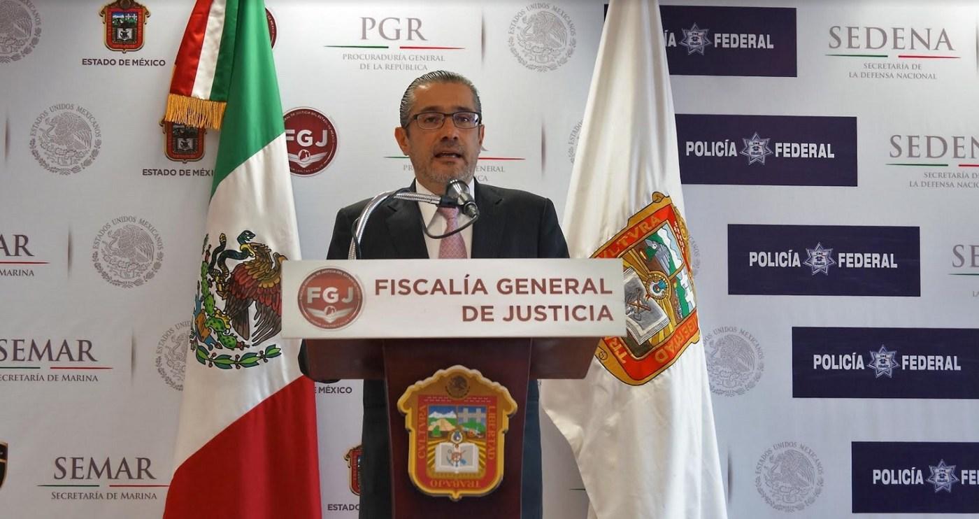 Alejandro Gomez, Procurador, Edomex, Seguridad, Violencia, Grupo Delictivo