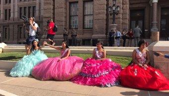 Protestan, ley SB4, inmigrantes, Congreso, Texas, quinceañeras,
