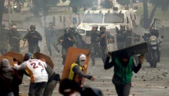 Protestas y represión por las elecciones de la Constituyente