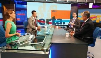 Rafael Fernández de Castro y Gabriel Guerra en Despierta con Loret