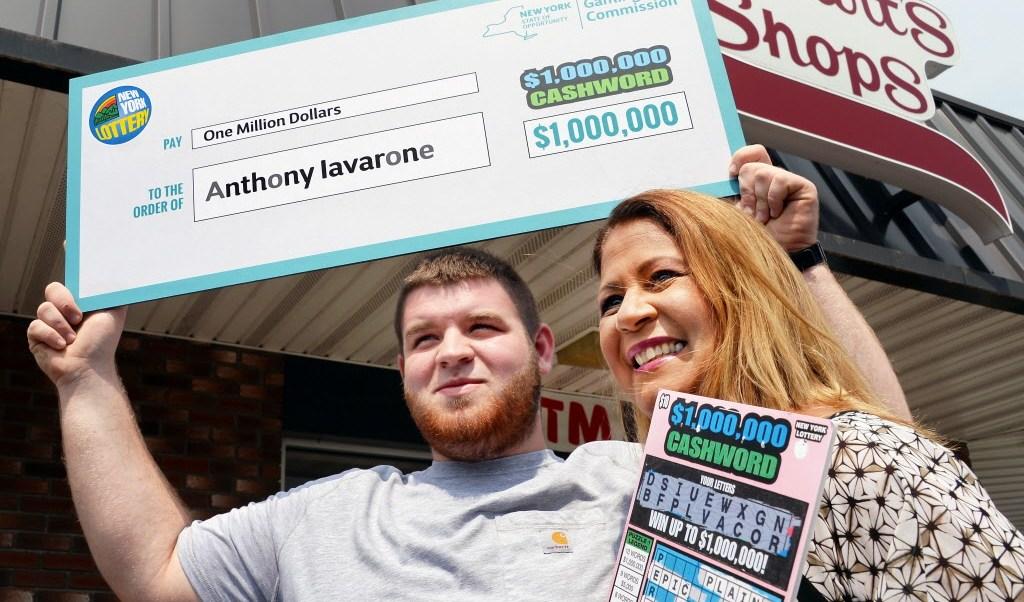 millón de dólares, billete de lotería, jardinero, estación gasolinera, nueva york, lotería