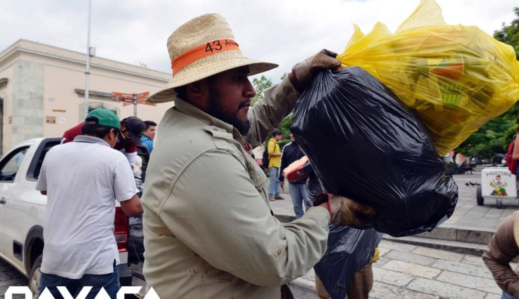 Basura, Bloqueo, Oaxaca, Enfrentamiento, Protesta, Servicio