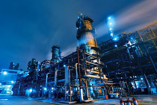 Refinería de petroleo, química y petroleoquímica