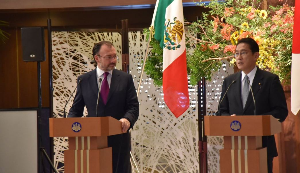México reforzará relación comercial Japon SRE