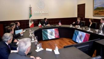 Enrique Pena Nieto, Rick Perry, Reunion, Enrgia, Los Pinos