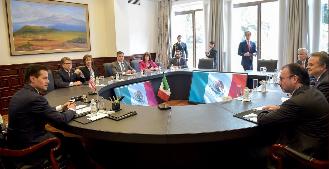 aReunion, Epn, Enrique Peña Nieto, Rick Perry, Materia Energetica