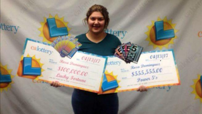Una joven gana la lotería dos veces en una semana