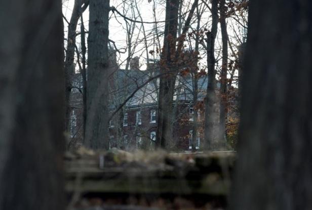 Un complejo ruso que fue o cerrado y desocupado en Long Island, Nueva York, el 30 de diciembre de 2016 (Reuters)