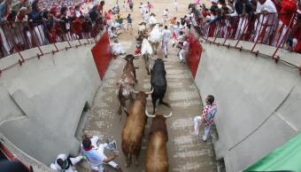 Quinto encierro, San Fermín, Jandilla, Pamplona, España, pamplonada, tauromaquia, toros